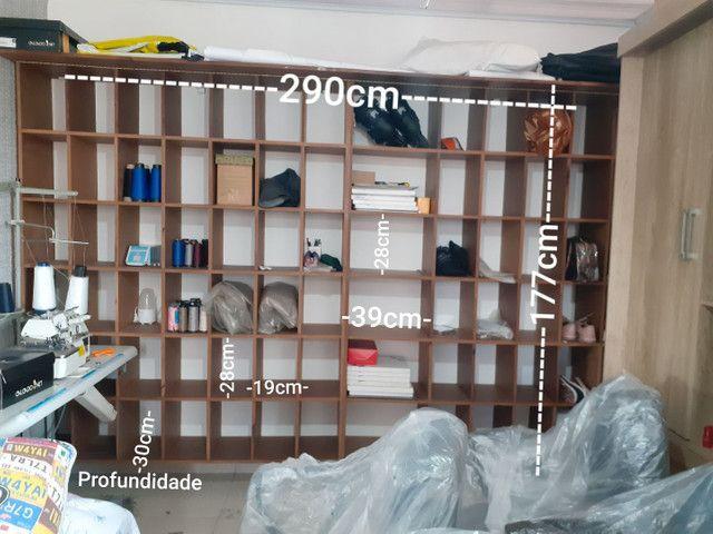 Prateleira MDF - Colméia MDF - Estante colméia -  Conjunto de nicho - Estante de nicho  - Foto 5