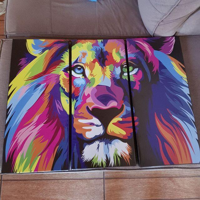 Quadro leão de Judá decoração sala quarto escritório  - Foto 2