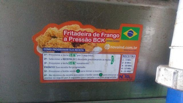 Fritadeira Industrial Novaind Bck Super 2 Bocas 220v