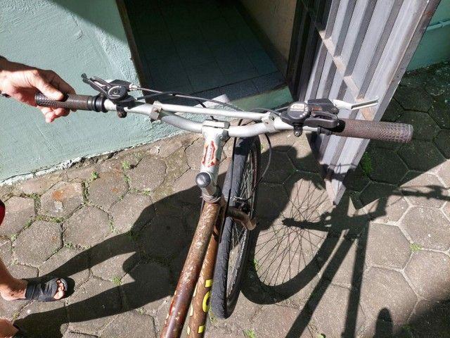 Vendo bicicleta caloi - Foto 4