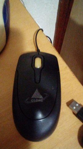 Teclado (2) e Mouse (2) ( não funciona para peças) - Foto 5