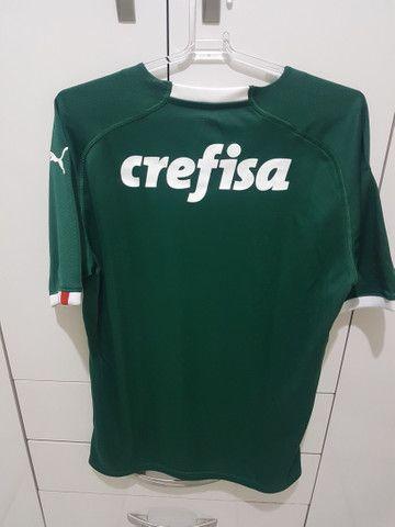 Camisa Puma Palmeiras Tamanho M Original  - Foto 6