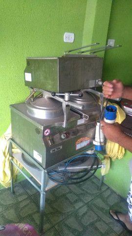 Fritadeira Industrial Novaind Bck Super 2 Bocas 220v - Foto 2