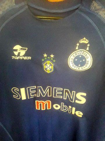 """Camisa do Cruzeiro Ec     """"G - Foto 3"""