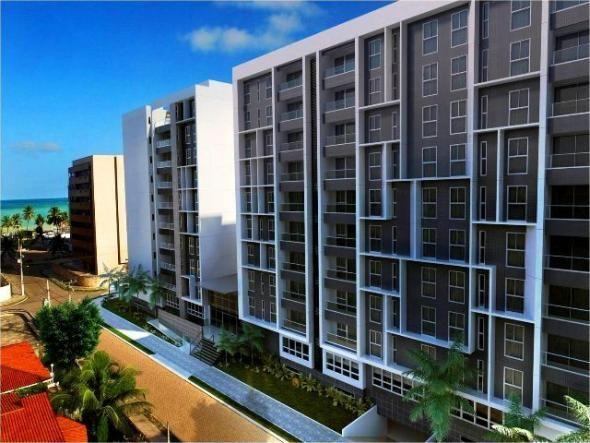 Fantástico apartamento em construção na praia de Intermares com uma estrutura incomparável