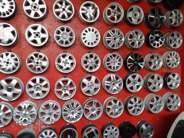 Rodas aros 13/14/15/16/17/18/19/20/22 para Fiat/GM/Nissan/VW/Toyota/Ford/Citroen e outros - Foto 11