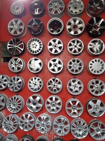 Rodas aros 13/14/15/16/17/18/19/20/22 para Fiat/GM/Nissan/VW/Toyota/Ford/Citroen e outros - Foto 10