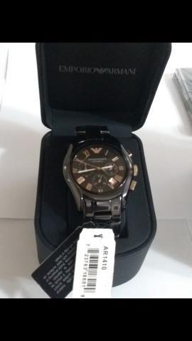 863455287 Relógio empório Armani cerâmica novo sem uso na caixa - Bijouterias ...