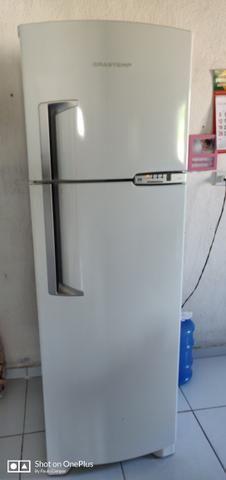 b64f3ced5 Refrigerador Brastemp Clean BRM42 378 Litros Branco ...
