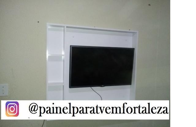 Promoção de painel para tv ,frete ,montagem e suporte gratis deixamos sua tv no painel - Foto 2