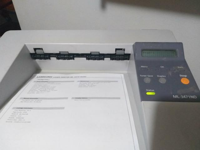 2 (duas) Impressora Laser Monocromática 110V - Foto 5