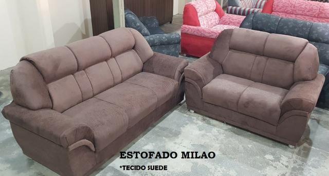 Sofá 2x3 lugares Milao - Foto 2