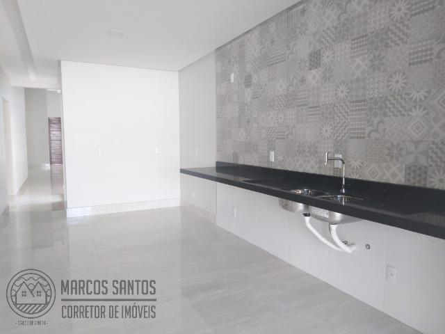 Linda casa nova moderna de alto padrão em rua 06 Vicente Pires - Foto 11