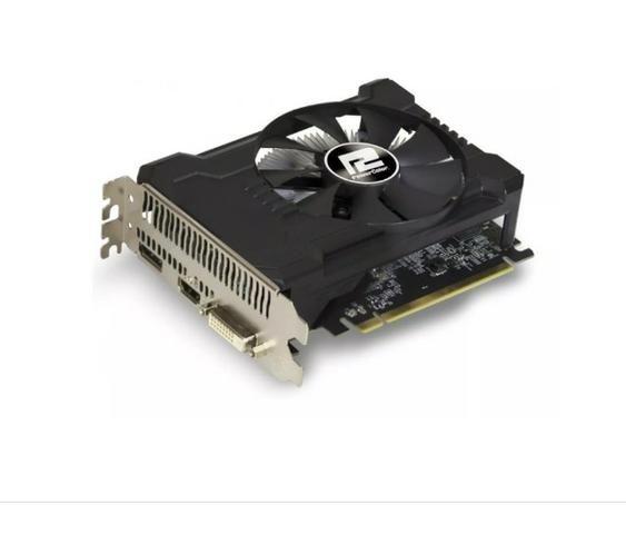 Placa de video Rx 550 Radeon Powercolor 4gb Ddr5 - Foto 3