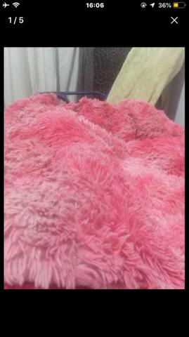 Tapete felpudo rosa - Foto 3