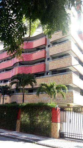 Apartamento projetado no Meireles 117m, 2 suítes com closet, Escritório, 3 vagas