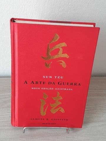 Livro A Arte da Guerra - Capa Dura - Edição Ilustrada