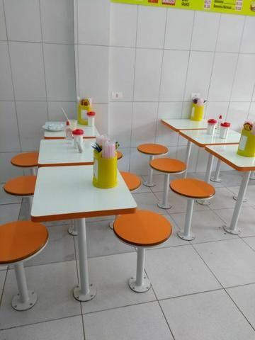Mesas e cadeiras de ferro - Foto 6
