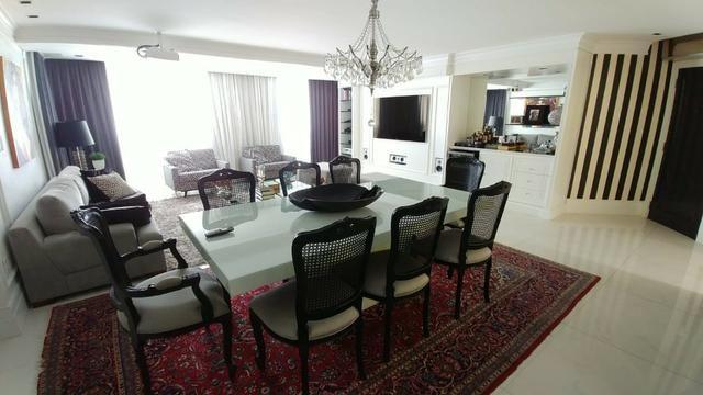 Apartamento bem mobiliado de 3 dormitórios no Centro de Florianópolis - SC - Foto 4