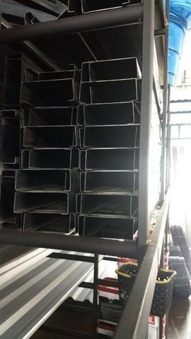 Ferro 100 x 40 chapa 14 de 6 metros
