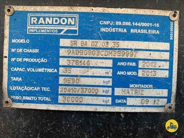 Carreta Basculante Randon Vanderleia 2013 35 m3 - Foto 10