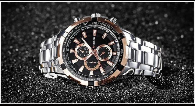 Relógio Masculino Silver Curren® - Original - Foto 2