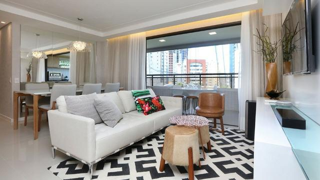 Vendo apartamento no Cocó com 123 m², 3 suítes e 3 vagas na garagem - Foto 5