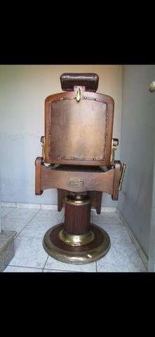 Cadeira de barbeiro vintage - Foto 4