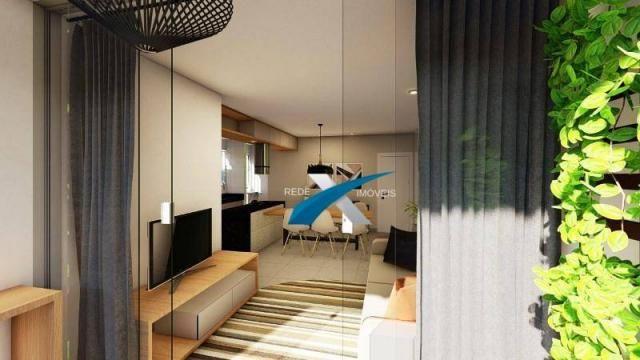 Apartamento com 3 dormitórios à venda, 80 m² por r$ 369.999 - havaí - belo horizonte/mg - Foto 2