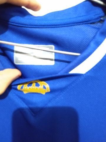 Camisa Cruzeiro oficial GG - Foto 2