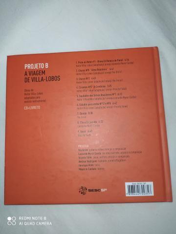 Livro projeto b a viagem de villa-lobos - Foto 3