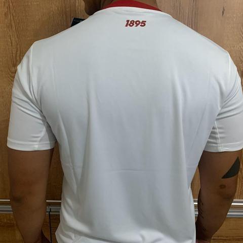 Camiseta Flamengo branca - Foto 2