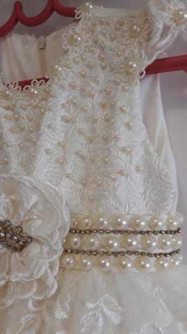 Vestido de Festa Princesa, bordado a mão - Foto 5