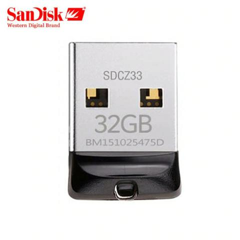 Pen Drive 32gb Sandisk Ultra Mini Micro Cruzer Fit Nano