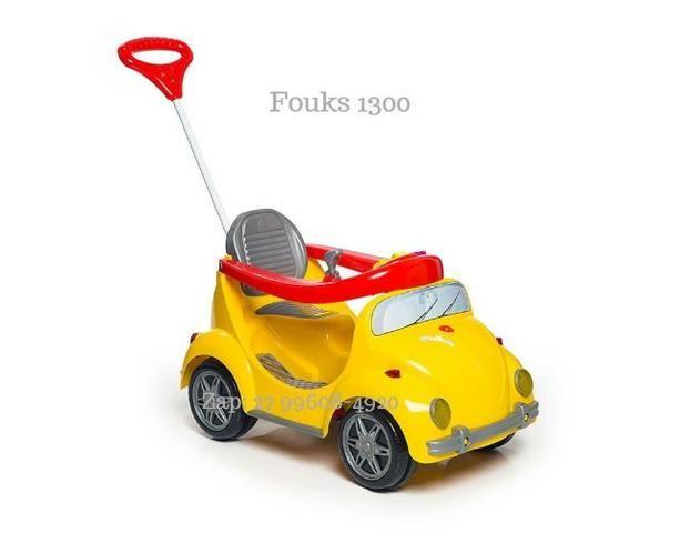 Carro de Passeio Fouks Calesita Passeio e Pedal Em 12x de R$37,41 Sem Juros - Foto 3
