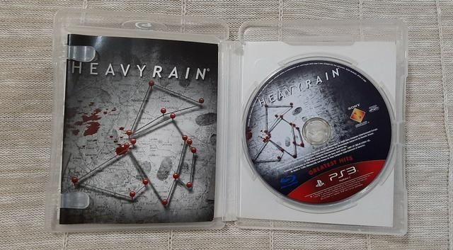 Jogo Heavy Rain PS3 - Foto 2