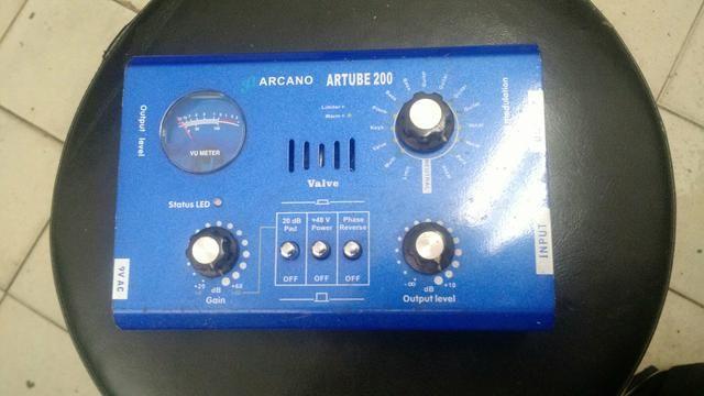 Pré amplificador valvulado para microfone - Foto 4