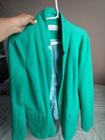 Blaser feminino verde - Foto 3