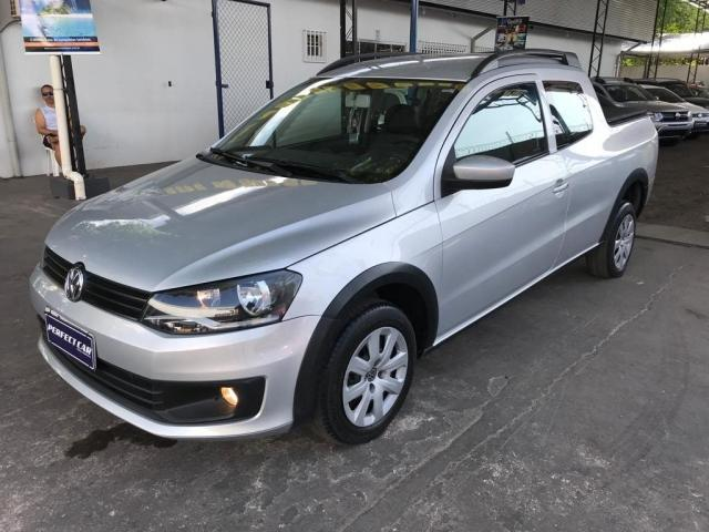 VOLKSWAGEN SAVEIRO 2014/2015 1.6 MI TRENDLINE CD 8V FLEX 2P MANUAL - Foto 8