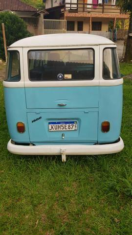 Vendo kombi antiga modelo corujinha1972 - Foto 2