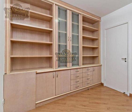 Apartamento para alugar, 176 m² por r$ 3.600,00/mês - bigorrilho - curitiba/pr - Foto 9