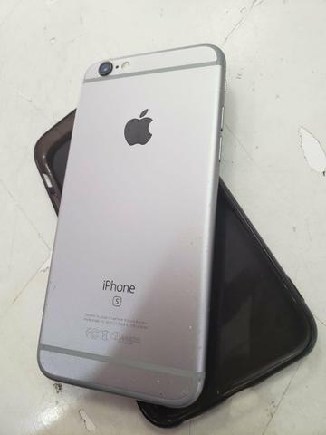 Vendo ou troco * iPhone 6s 128 gigas de memória - Foto 2