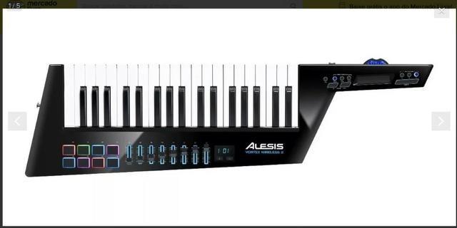 Alesis Vortex Wireless 2 Teclado Controlador Midi Keytar Us - Foto 3