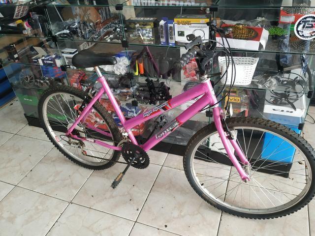 Bike aro 26 21 velocidade - Foto 2