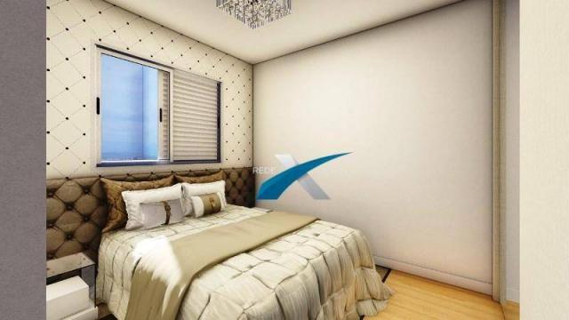 Apartamento com 3 dormitórios à venda, 80 m² por r$ 369.999 - havaí - belo horizonte/mg - Foto 5