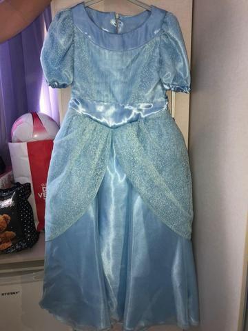 Vestido luxo Cinderela