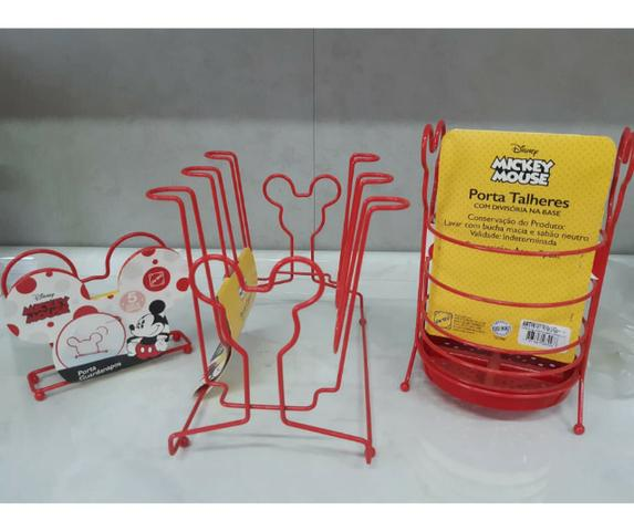 Kit Mickey Cozinha C/ 3 Itens Cod. 13113