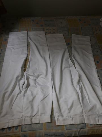 Uniformes brancos calças compridas e saia - Foto 2