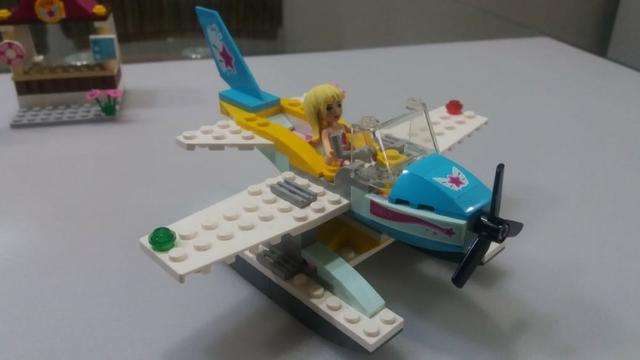 Lego 3063 Heartlake Flying Club - avião menina - Foto 2