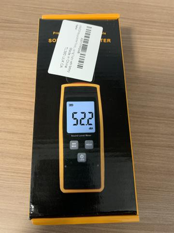 Decibelímetro digital